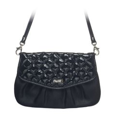 """""""Jane in Black: Cute and curvy, Jane features a glossy cross-stitched pattern or sleek animal print that adds just enough intrigue to your perfect look.  Fits inside the exterior pocket on your favorite Grace Adele bag."""""""