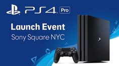 Youre Invited: PS4 Pro Midnight Launch in NYC #Playstation4 #PS4 #Sony #videogames #playstation #gamer #games #gaming