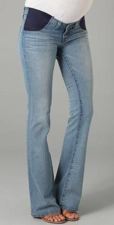 J Brand Mama J Bailey Boot Cut Maternity Jeans