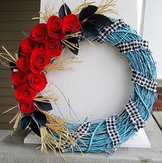 what a cool wreath