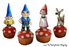 Gnomeo and Juliet Birthday Party Theme