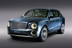 Bentley SUV  See the