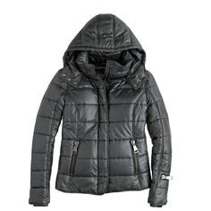 Authier® hooded ski puffer