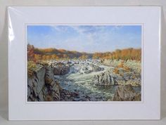 Great Falls of the Potomac Art Print #Realism