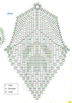 Kira scheme crochet: Scheme crochet no. Filet Crochet, Crochet Doily Diagram, Crochet Doily Patterns, Crochet Chart, Crochet Doilies, Crochet Stitches, Stitch Patterns, Knit Crochet, Holiday Crochet