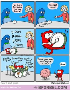 Funny love comics awkward yeti 35 Ideas for 2019 Akward Yeti, The Awkward Yeti, Life Comics, Comics Love, Funny Quotes, Funny Memes, Hilarious, Jokes, Funny Cartoons