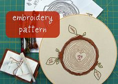 custom family tree embroidery pattern by cozyblue on Etsy This is an interesting idea for a family tree Iron On Embroidery, Paper Embroidery, Cross Stitch Embroidery, Embroidery Patterns, Embroidery Sampler, Embroidery Hoops, Needlepoint Patterns, Sewing Patterns, Do It Yourself Inspiration