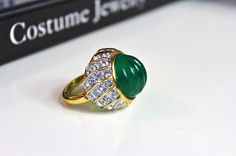 Jewelrin- Antiques Enthusiast: KJL Kenneth Lane ring