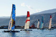 Extreme sailling series, puerto de Almería