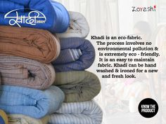#DidYouKnow #Khadi #FabricOfTheNation #Indian #Handloom #Fabric #TopicOfTheDay #IndianFabrics #LoveForFabric