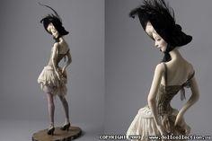 Художественная кукла Натальи Побединой«Катрин»