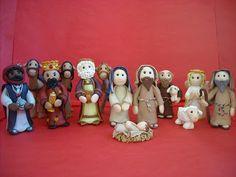 Fimo Christmas Nativity Set