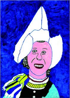Volendam; kunstenaar Lida