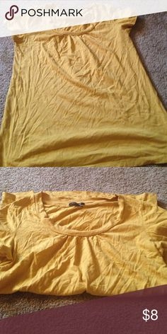 Mustard top Mustard top Daisy Fuentes Tops Blouses