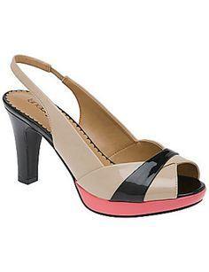 My new.....Lane Bryant Color block Peep toe heel! So many options!