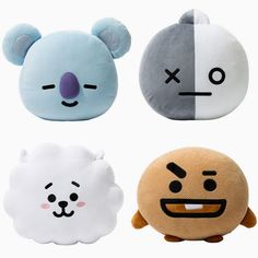 New Kpop Bangtan Boys Bts Bt21 Vapp Same Pillow Plush Cushion Warm Bolster Q Back Soft Stuffed Doll 25 Cm Tata Cooky Chimmy Strong Resistance To Heat And Hard Wearing Costume Props Costumes & Accessories