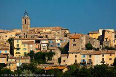 The village of Puimoisson by edleckert, via Flickr