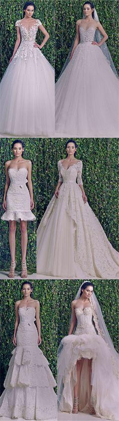 Os vestidos de noiva do Zuhair Murad! - Fashionismo                                                                                                                                                                                 Mais