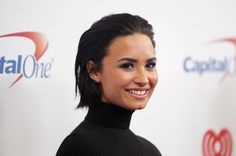 Demi Lovato has proven time and again (with a slew of barefaced selfies) that she doesn't need a drop of makeup to look absolutely gorgeous. But like a good beauty addict — she has her own skin care line called Devonne by Demi and changes her hair color and style so often we can barely keep track — Demi loves to wear makeup, experimenting with fun lip colors any chance she gets, but she always keeps one thing consistent in her look: those stunning, perfectly shaped eyebrows.