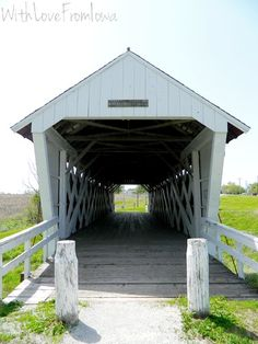 Imes Covered Bridge. St. Charles, Iowa. #deltadentalIA