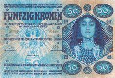 Kolo Moser - 50 Kronen-Banknote - 1902