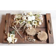 Elit Concept Borderless Wooden Rustic Engagement & Promise Tray Price - Harny - Home Decor Engagement Decorations, Wedding Decorations, Diy Wedding Favors, Wedding Gifts, Rock And Roll Bands, Bouquet Toss, Reception Party, Nontraditional Wedding, Ideas