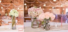 Mason jars as vases!