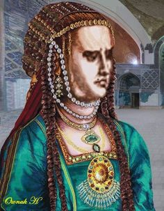 Princess  Johanne Beygim the bavery wife of Turkmen King Jahanshah Haghighi the ruler of Turkmens in Iran in XIV-XV centuery