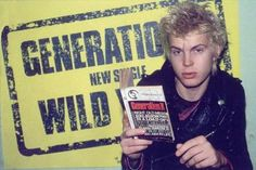 Billy Idol from Generation X