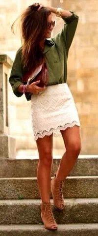 This skirt....