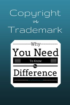 The Difference Between Copyright and Trademark And Why You Need to Know by Sara F. Home Based Business, Business Tips, Top Art Schools, Sales Tips, Vape Tricks, Good To Know, Social Media Marketing, How To Apply, Writing