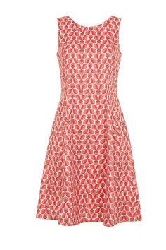 People Tree   Orla Kiely Wallflower sleeveless dress