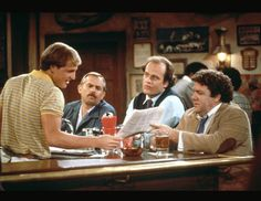 Favorite Show of ALL TIME!!!! Cheers (NBC)