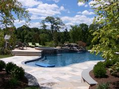 Custom Pool Ideas- Home and Garden Design Ideas