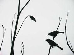 птицы на дереве рисунок - Google Search