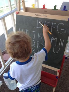 One Busy Mama and Teacher: Chalkboard Painting