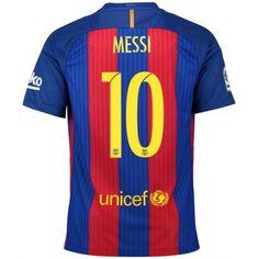 Camisa Nike Barcelona Home Nº 10 - Messi - Azul+Vermelho Camisa Barcelona, Neymar Barcelona, Barcelona Shirt, Barcelona Jerseys, Barcelona Football, Neymar Jr, Messi 10, Lionel Messi, Messi Shirt