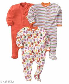 Oneseis & Rompers Fancy Cotton Kid's Rompers (Pack Of 3) Doodle Fancy 100% Cotton Kid's Rompers Combo Country of Origin: India Sizes Available: 0-3 Months, 3-6 Months, 6-9 Months, 9-12 Months, 12-18 Months   Catalog Rating: ★4.3 (4142)  Catalog Name: Doodle Fancy 100% Cotton Kid's Rompers Combo Vol 2 CatalogID_624895 C62-SC1159 Code: 665-4353562-6051