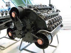 Tatra T955 1943 W18 cylinder