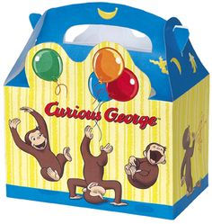 Celebrate with the Curious George Favor Boxes for your party. Find amazing selections & prices on all birthday decorations & supplies at Birthday in a Box. Curious George Party, Curious George Birthday, 2nd Birthday Parties, 4th Birthday, Birthday Ideas, Birthday Outfits, Birthday Celebrations, Birthday Decorations, Party In A Box