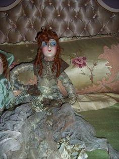 Green Boudoir doll