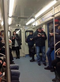 Just a normal Moscow subway