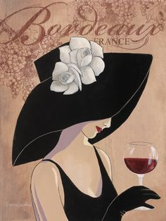 BORDEAUX  BY LORRAINE DELL WOOD. TO SEE MORE GREAT IMAGES, VISIT www.lailas.com