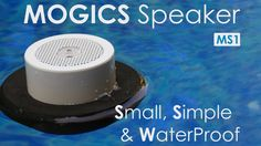 MOGICS Speaker - Small & Simple Anywhere (HD)