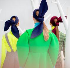 Delpozo Fall 2015 Backstage at Moda Operandi