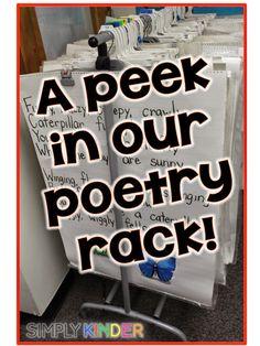 A Peek in my Poetry Rack! - Simply Kinder