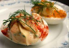 Herkkusuun lautasella-Ruokablogi: Munanpuolikkaat