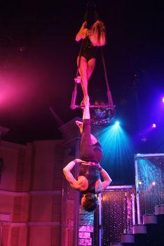 Cirque Imagine, trapezistes