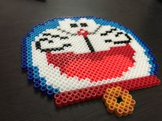 Doraemon Perler Art