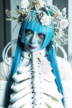 Creepy Photography, Art Photography, Bride Nails, Japan Fashion, Visual Kei, Sleepover, Cute Boys, Art Reference, Cool Style